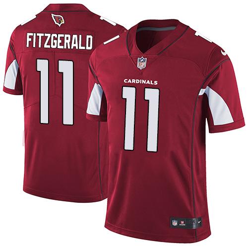 cheap nfl jerseys rate Cardinals #11 Larry Fitzgerald Red Team Color Stitched Vapor Untouchable Limited Jersey where to buy stitched nfl jerseys